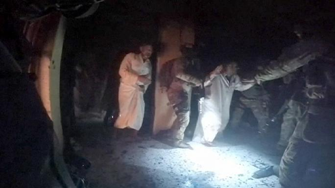 Dramatic pictures released of US-Kurdish prisoner rescue in Iraq