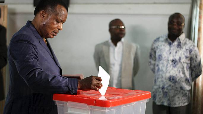 Congo votes in controversial referendum to allow president to stand again