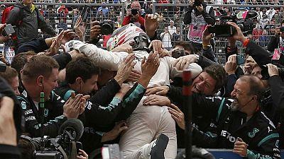 Hamilton wins third Formula One World Championship at US Grand Prix