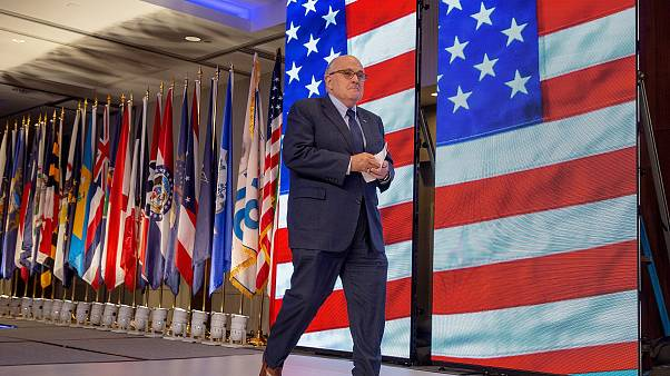 Image: President Trump's Newly Appointed Lawyer Rudy Giuliani Speaks At Con
