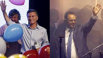 Second tour historique entre Macri et Scioli pour la présidence argentine