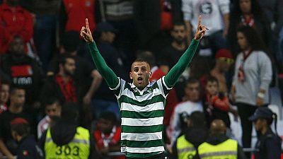 """Liga Portuguesa, J8: """"11"""" do Sporting """"atropela"""" (0-3) equipa do Benfica na Luz"""