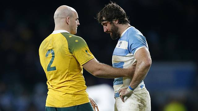 Rugby World Cup 2015: Australia win 29-15 over Argentina for place in Final