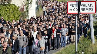 Emlékezés a franciaországi buszbaleset halottaira