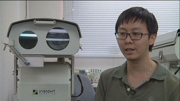 Un robot high-tech pour mieux détecter les incendies