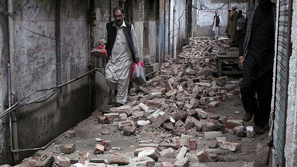 آلبوم عکس؛ زلزله شدید در افغانستان