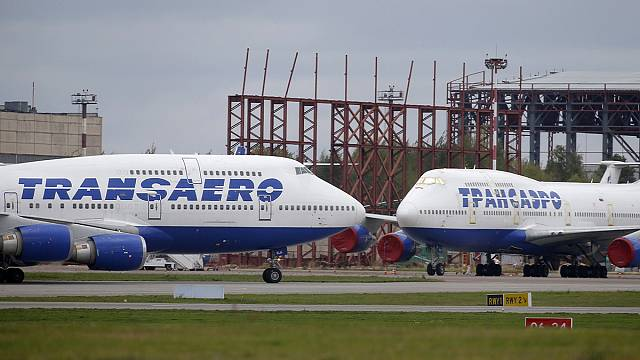 Russia's Transaero airline grounded over safety fears