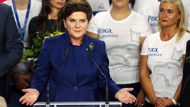 """Polonya'daki """"genç ve eğitimli kesim"""" sağcı parti PİS'i iktidara taşıdı"""