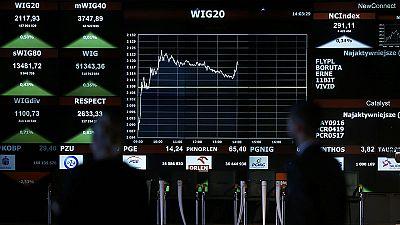 Markets fret over Polish election winners' bank tax plan