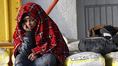 EU stiffens border controls but human bottlenecks shiver in the cold and rain