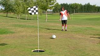 Marco Schiavone champion d'Europe de footgolf