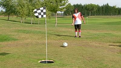 Schiavone crowned European Footgolf champion