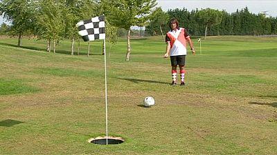 Marco Schiavone se proclama campeón de footgolf