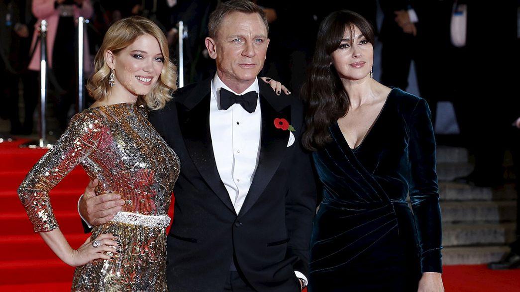 La familia real británica en el estreno mundial de 'Spectre', el nuevo James Bond