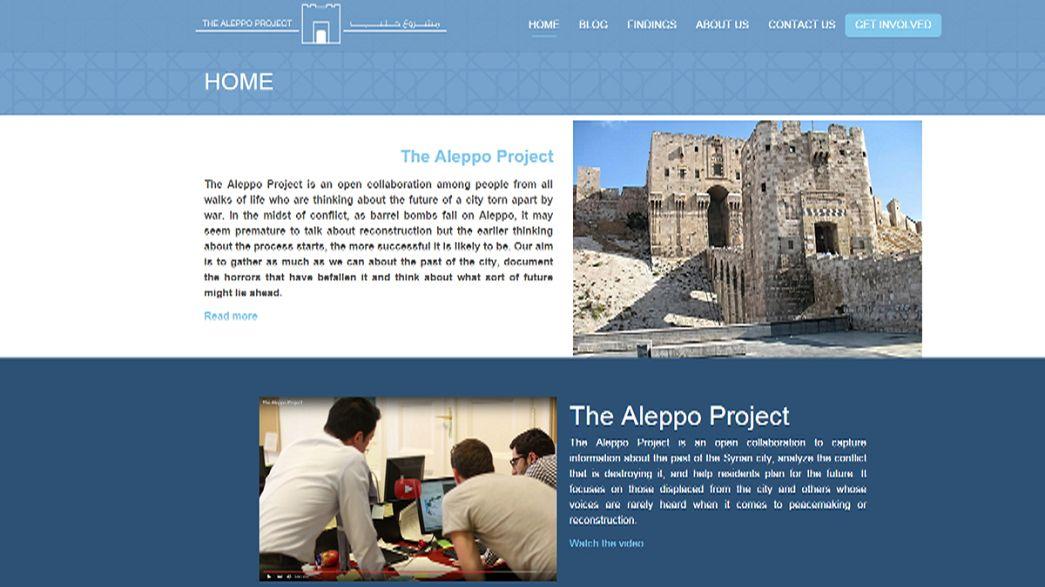 """""""Le Projet Alep"""" rêve de reconstruire ce joyau du Moyen Orient"""