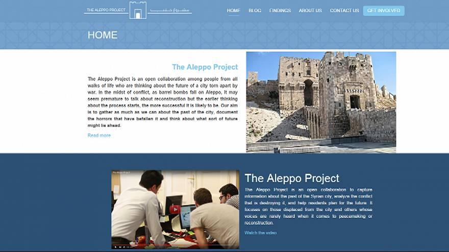 Project is launched on the rebuilding of destroyed city of Aleppo