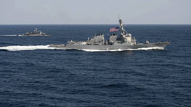 Mer de Chine : un navire américain s'approche d'îlots revendiqués par Pékin