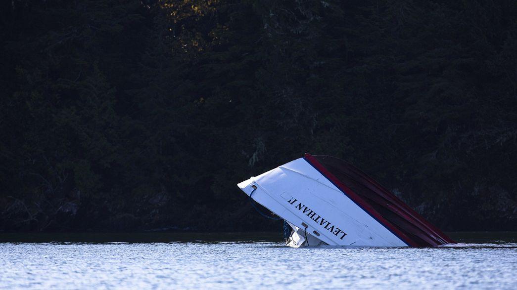 El barco turístico hundido en Canadá no tuvo tiempo de enviar una señal de socorro