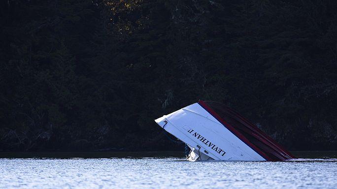 Nem volt idő vészjelzést küldeni - baleset Kanada partjainál