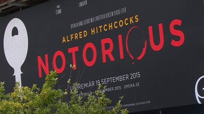 Hitchcock's 'Notorious' becomes opera in Sweden