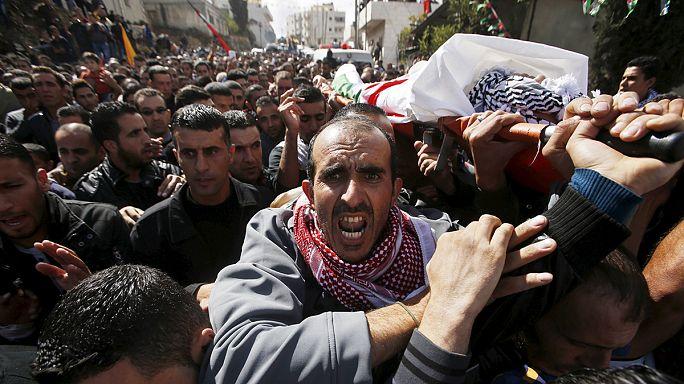 El Halil'de İsrail askerleriyle Filistinliler arasında olaylar çıktı