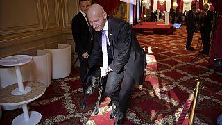 Ο σκύλος του Ολάντ ήθελε να δει την τηλεδιάσκεψη με την Μέρκελ!