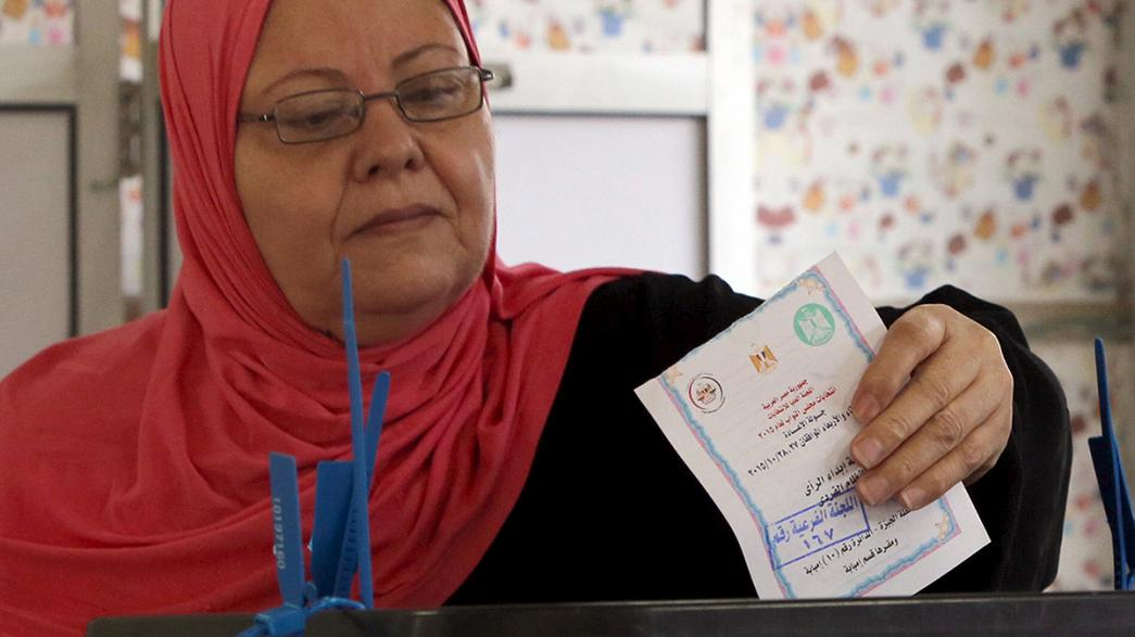 Egipto celebra la segunda vuelta de las legislativas con la mitad de escaños en liza y baja participación