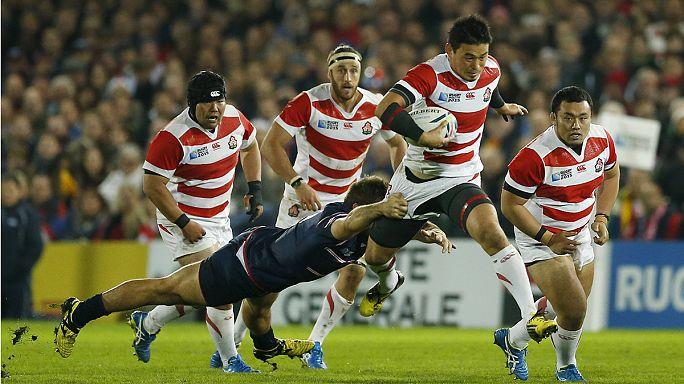 Japan trainiert die zukünftigen Rugby-Stars
