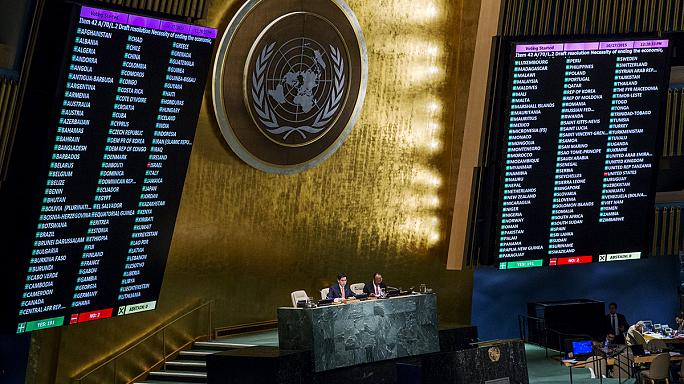 UN votes to condemn United States embargo on Cuba