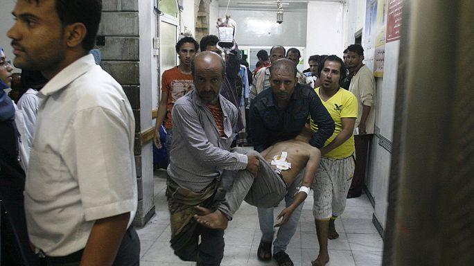 Szaúdi légi támadás egy jemeni kórház ellen