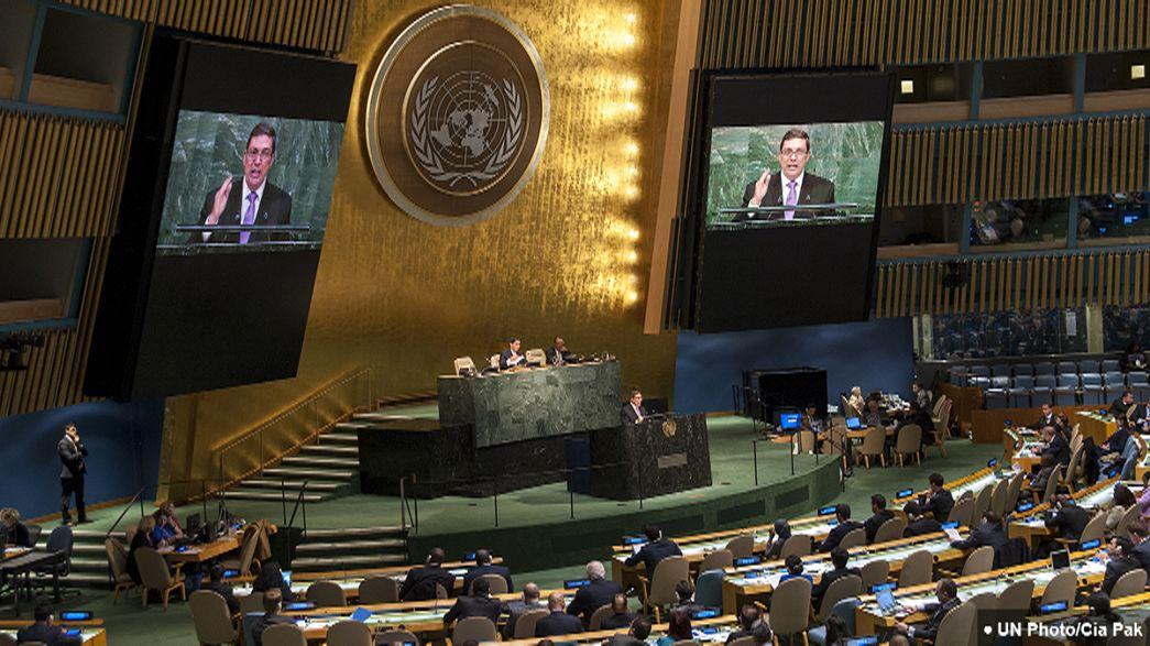 """ONU exige fim de embargo a Cuba mas Washington diz """"não"""""""