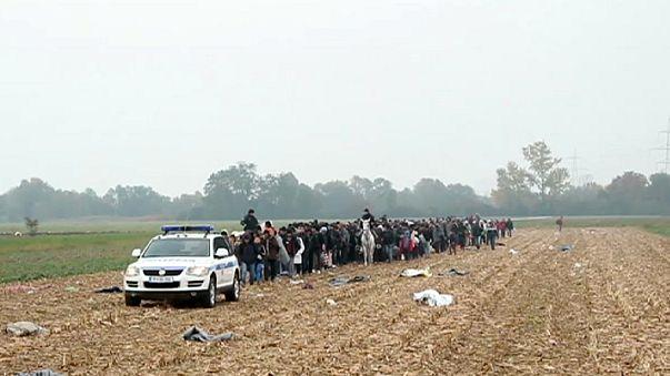Migranti. Campi profughi pieni in Slovenia che applica nuovo sistema registrazione