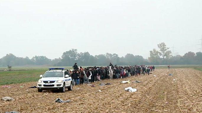 Vonatokkal utaztatja tovább Szlovénia a menekülteket