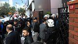 Протесты против контроля за СМИ в Турции
