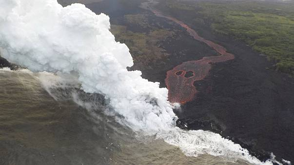 Image: Hawaii's Kilauea volcanic activity