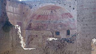 ویلای امپراتور روم، تازه ترین یافته انفجار آتشفشان وزوو