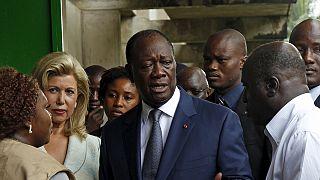 Costa do Marfim: Ouattara elogia o comportamento da população
