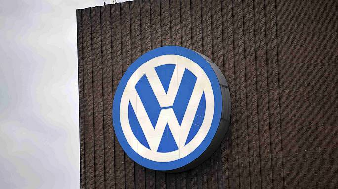 Volkswagen puts brave face on crash into the red