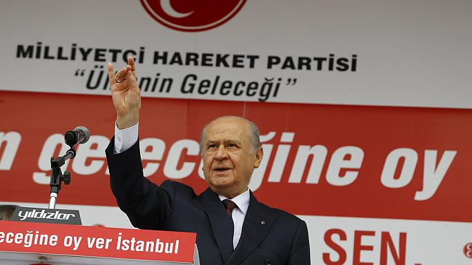 Los nacionalistas del Partido de Acción Nacional pueden convertirse en la llave del nuevo Gobierno turco