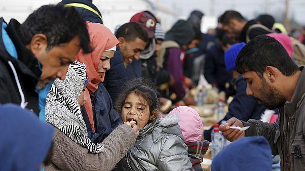 Eslovenia: pizzas cinco veces más caras para los refugiados entre muestras de solidaridad