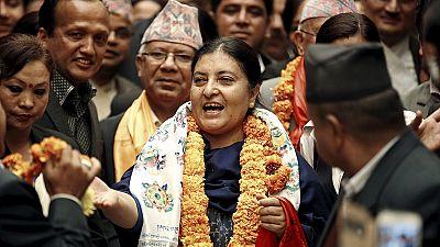 Nepal: Kommunistin wird zur ersten Präsidentin