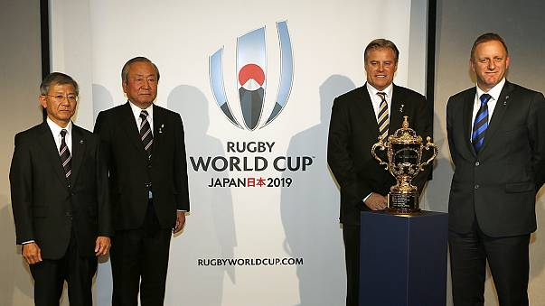 Logo unveiled for 2019 Rugby World Cup