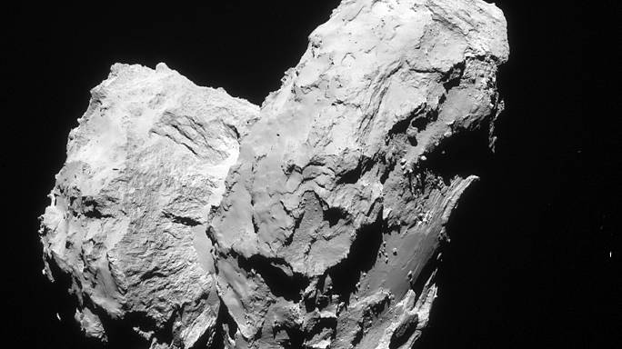 Rosetta mission finds oxygen on comet 67P