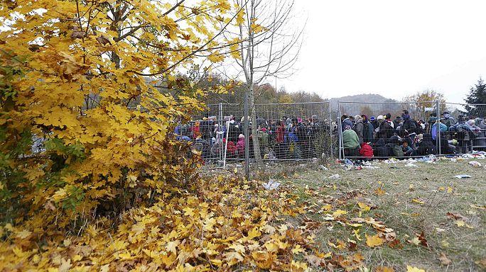 Crise migratoire : après l'Autriche, la Slovénie menace de verrouiller sa frontière