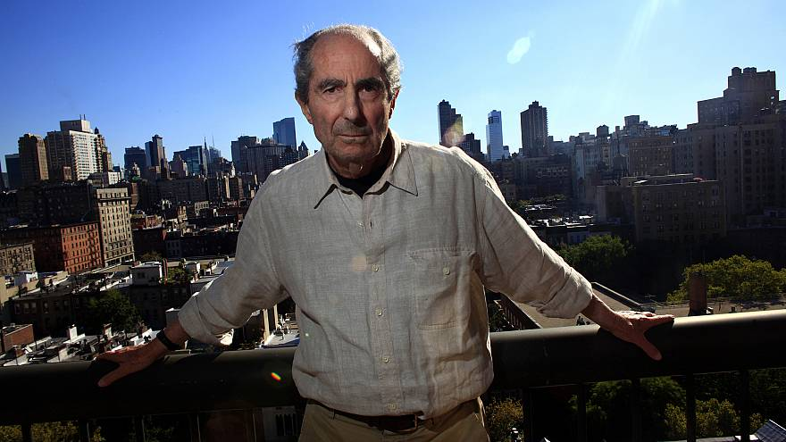 Image: Author Philip Roth in New York