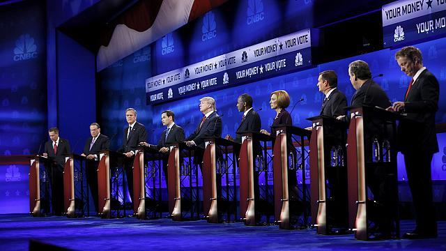 Третьи дебаты республиканцев-претендентов на пост президента США