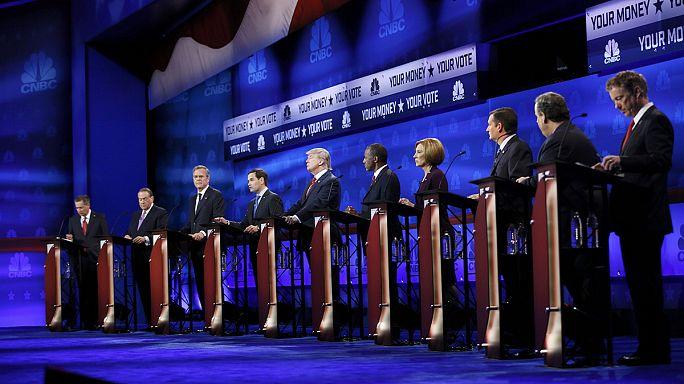 السياسة الضريبية فحوى مناظرة تخص سباق المرشحين الجمهوريين نحو البيت الأبيض
