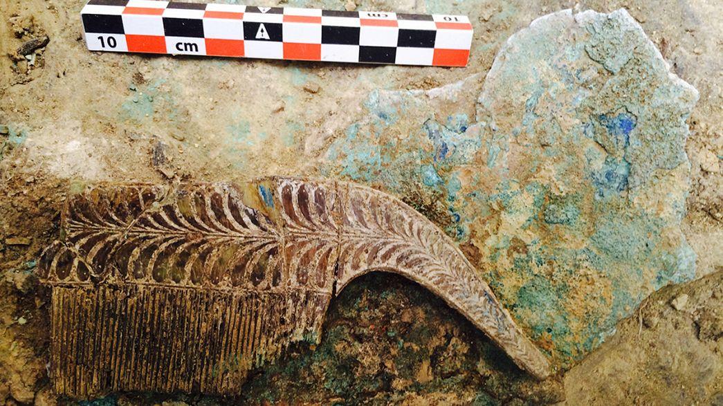 Ancient warrior's tomb, treasure hoard found in Greece