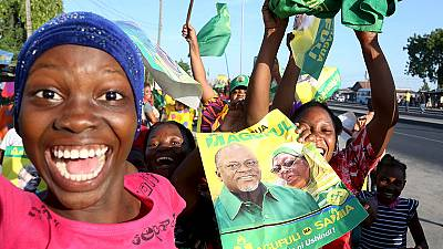 Tanzania ruling party's Magufuli wins presidential vote, officials say