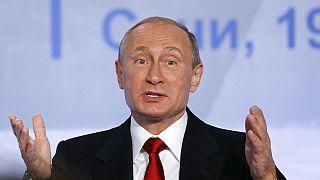 افزایش محبوبیت ولادیمیر پوتین بر اساس نظرسنجی ها